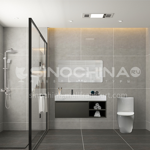 Creative space-minimalist style apartment bathroom design CM1012
