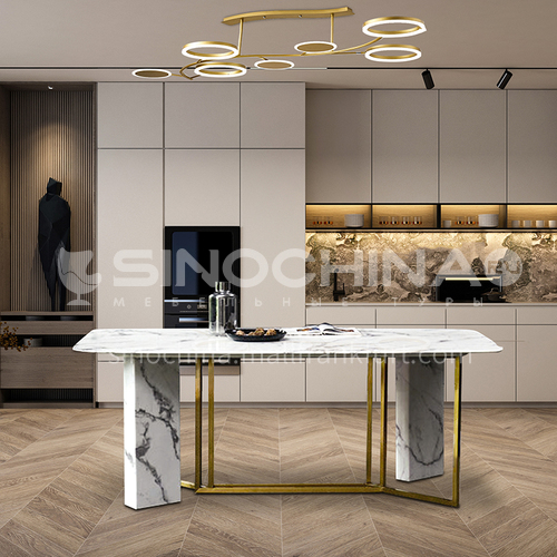 Creative Space-Modern Light Luxury Style Restaurant Design CM1013