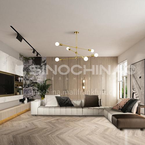 Creative Space-Modern Light Luxury Apartment Living Room Design