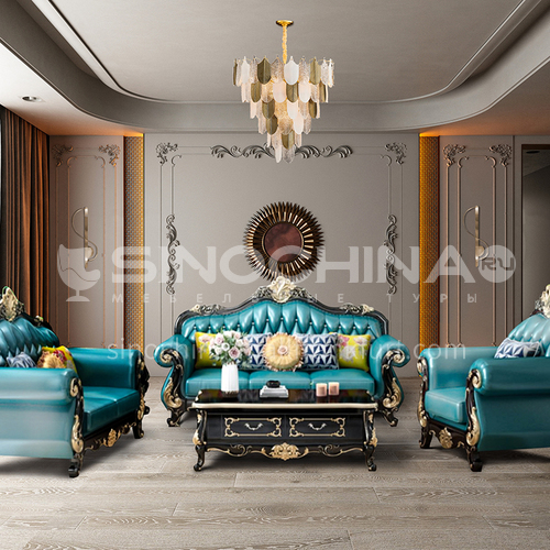 Creative Space-Luxurious European Style Living Room Design