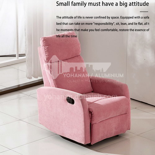 ZF-807 Living room imitation leather fabric fashion functional sofa