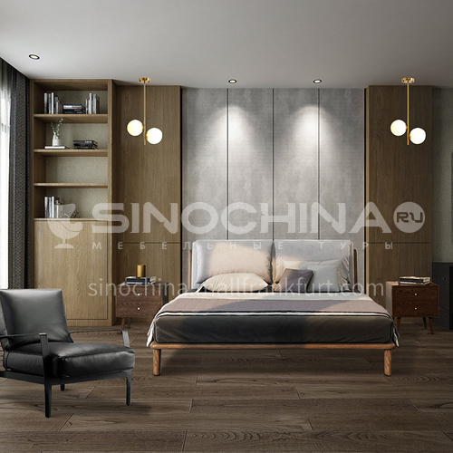 Creative Space-Modern Style Apartment Bedroom Design