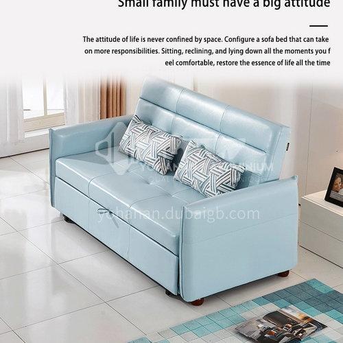 ZF-901 modern minimalist living room, bedroom dual-purpose sofa bed, wrought iron inner frame, high-density sponge,