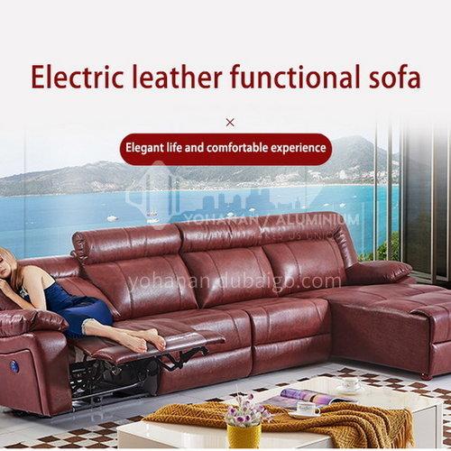 ZF-A889 Living room leather fabric high density sponge fashionable multifunctional modern sofa