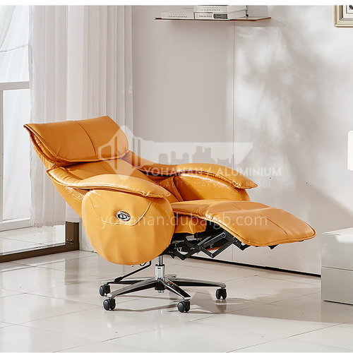 ZF-B062 Living room leather fabric small functional chair with wheels and metal tripod