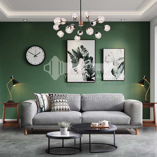 Creative space-Nordic style living room design