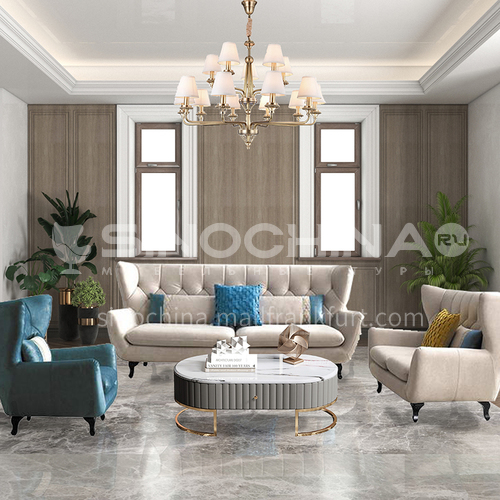 Creative Space - American Style Living Room Design CM1011