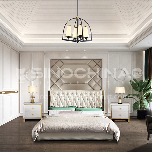 Creative Space-Modern American Style Bedroom Design CM1007