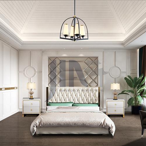 Creative Space-Modern American Style Bedroom Design CM1007