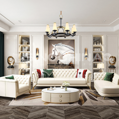 Creative Space - Modern American Style Living Room Design CM1008