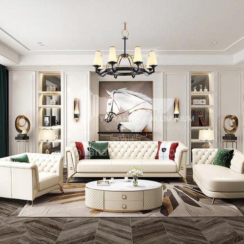 Creative Space - Modern American Style Living Room Design CM1008