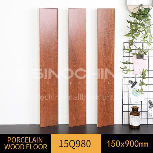 Nordic minimalist bedroom wooden floor living room floor tiles-WLK15Q980 150*900mm