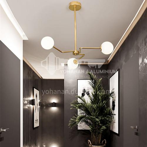 Nordic lamps and lanterns modern minimalist living room dining room bedroom light luxury magic bean simple European chandelier-NVC-XW-BXDK5051