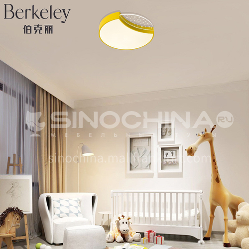 Cute LED Ceiling Lamp for Children's Room Simple and Modern Bedroom Lamp-NVC-XX-BXXY1154