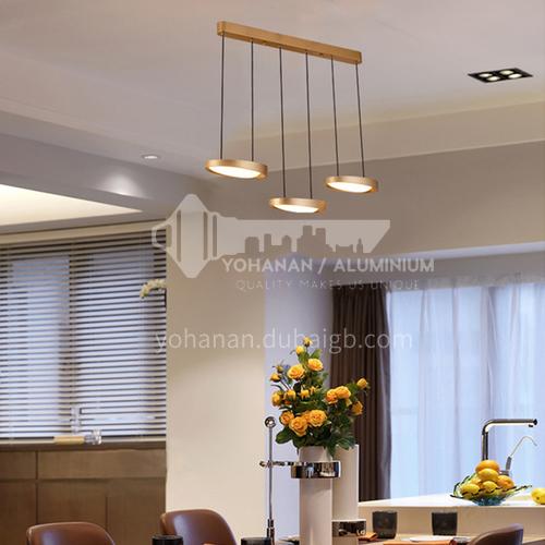 Modern minimalist creative lighting creative living room dining bedroom chandelier-NVC-YFFS-BXDN1074