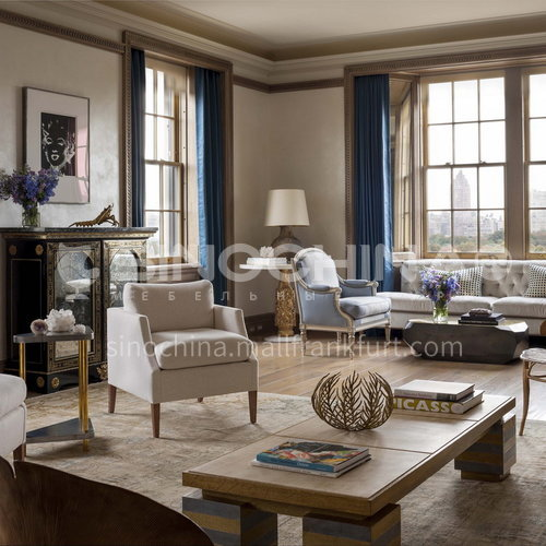 Apartment Design-Luxury Apartment Design on Fifth Avenue in New York ACS1142