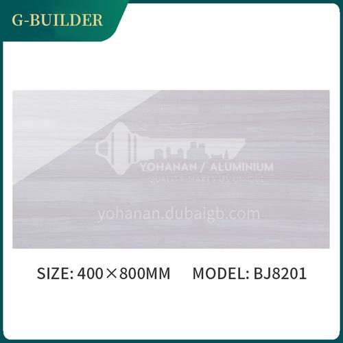Simple living room kitchen glazed interior wall tiles-FEZBJ8201 400*800mm