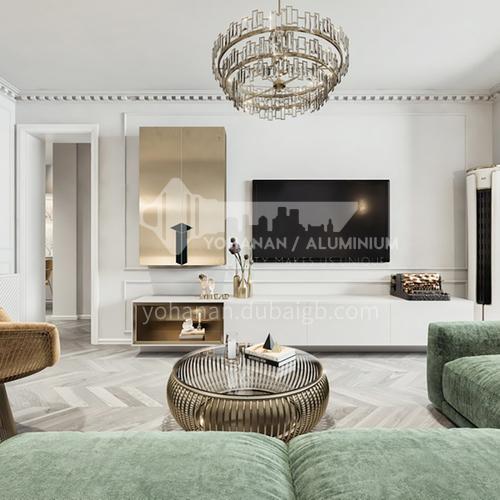 Apartment - Retro French Style Apartment Interior Design AFS1048