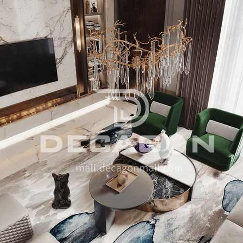 Apartment - French Modern Style Apartment Design AFS1046