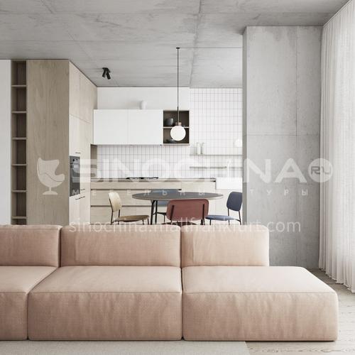 Apartment - simple modern style apartment design AMS1206