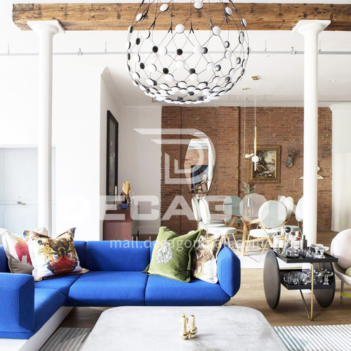 Apartment - Modern Industrial Style Apartment Design AMS1205