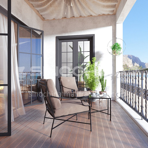 Creative Space - Modern Terrace Design by the Sea