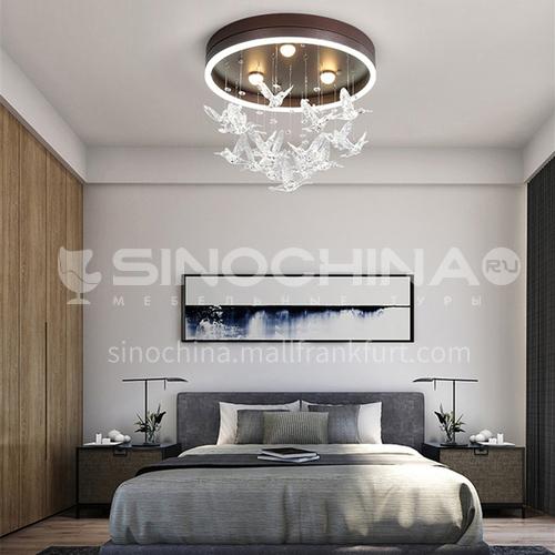 Nordic bedroom lamp warm and romantic modern bird ceiling lamp BOKJ-GB4114