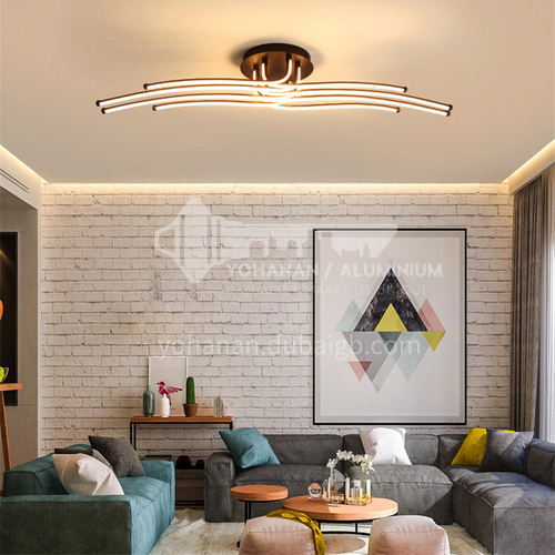 Living room lamp Nordic style lamp led strip ceiling lamp Simple modern creative dining room lamp for bedroom BOKJ-GB4213