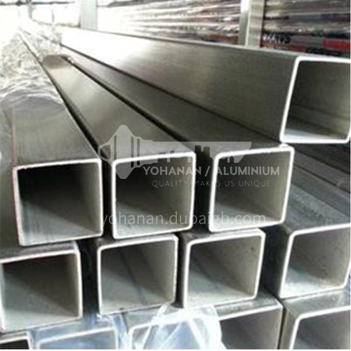 Stainless steel decorative square tube