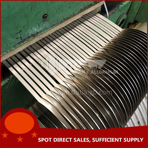 Stainless steel plate precision slitting