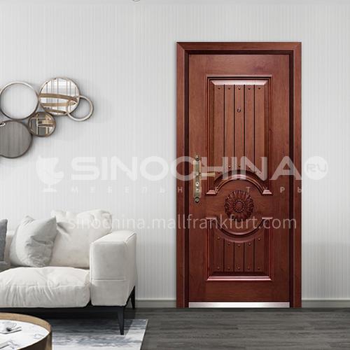 Anti-theft door Hot-selling steel door anti-theft, cost-effective entry steel door