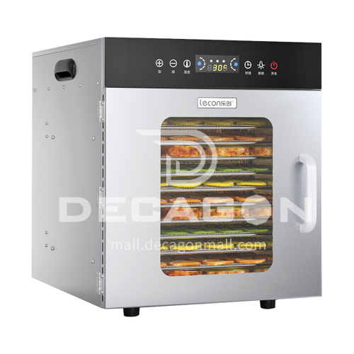 Lecon Electric Fruit Dryer Food Food Fruit Tea Dissolved Beans Fruits and Vegetables Dried Fruit Dryer Dehydrator Commercial   DQ000989