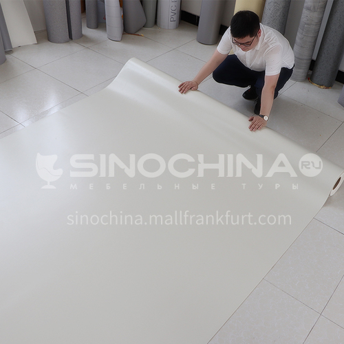 Commercial PVC  flooring PVC coiled material thickened floor material wear-resistant waterproof floor glue hospital ward floor sticker