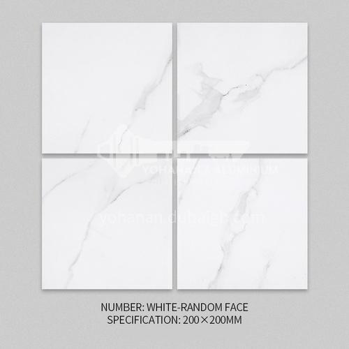 Nordic tile marble pattern antique brick kitchen wall tile bathroom floor tile-XWZWHITE-RANDOM FACE 200*200mm