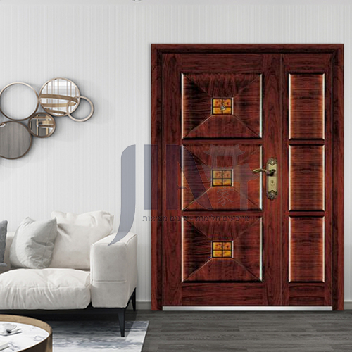One a half door hot sales steel door with lock good price design steel door