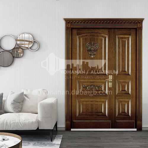 European style entrance steel security door