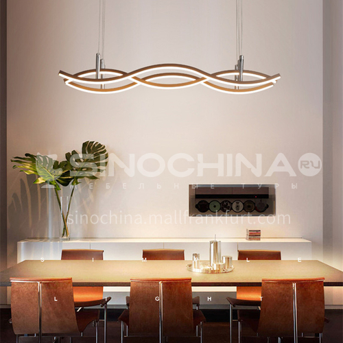 Chandelier Living Room Lamp Modern Simple Atmospheric Dining Room Lamp Creative Bedroom Nordic Lamp BOKJ-GB6157