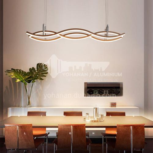 Chandelier Living Room Lamp Modern Simple Atmospheric Dining Room Lamp Creative Bedroom Nordic Lamp BOKJ-GB6157