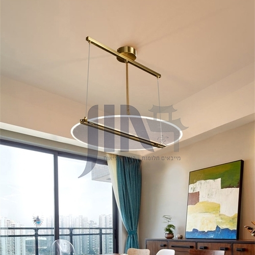 Acrylic led Nordic modern light luxury living room bedroom dining chandelier-FTYB-6608