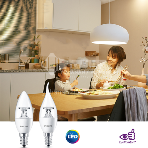 Philips Constant Bright Candle Bulb-Philips LED bulb
