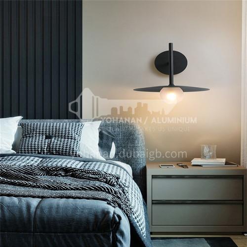 Modern minimalist dining room chandelier single head bar wall lamp simple creative personality bedroom Nordic bedside wall lampHLBD-9001