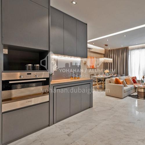 Modern designUV lacquer with  HDF kitchen cabinets GK1170