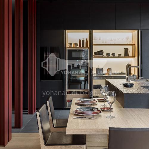 Modern designUV lacquer with  HDF kitchen cabinets GK1171