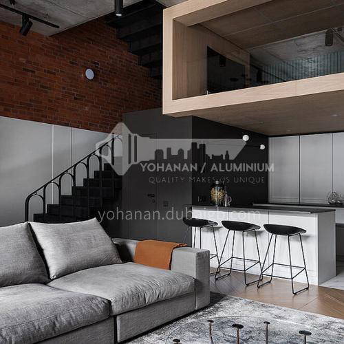 Modern designUV lacquer with  HDF kitchen cabinets GK1172