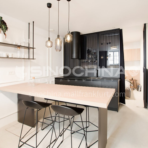 Modern designUV lacquer with  HDF kitchen cabinets GK1173