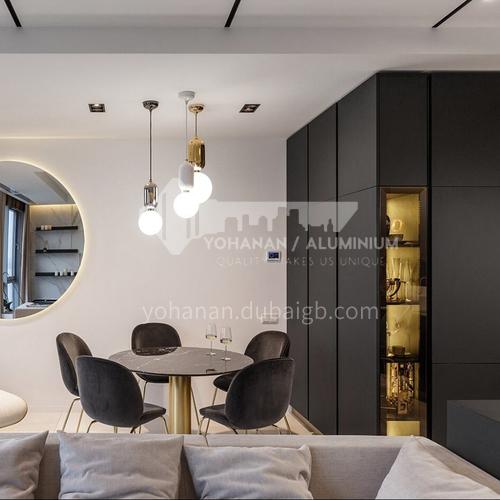 Modern designUV lacquer with  HDF kitchen cabinets GK1174