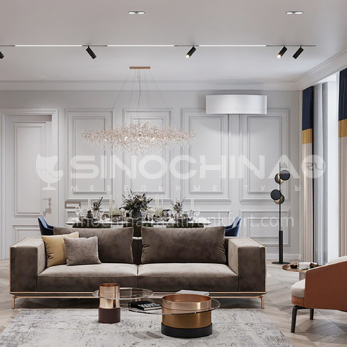 Apartment - Modern French Style Apartment Design AFS1049