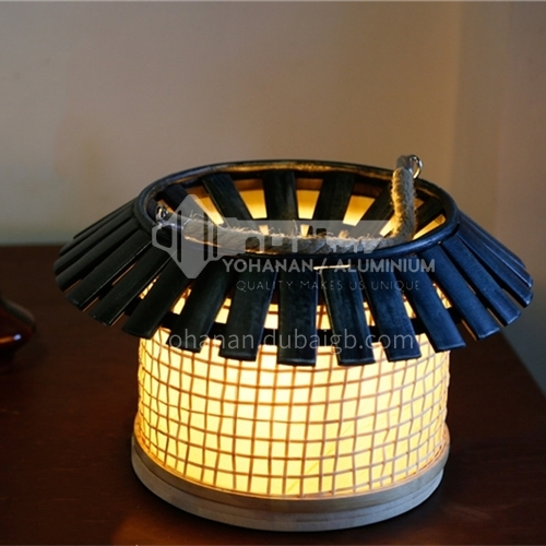 Retro personality creative wood art lamps room romantic coffee shop table lamp-LY-MT-6258A