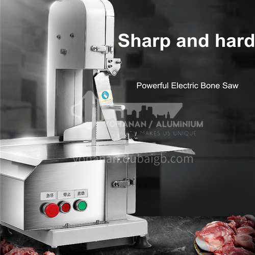 Lecon bone sawing machine bone cutting machine commercial desktop bone chop meat sawing machine cutting fish trotters steak bone frozen meat machine electric   DQ001000
