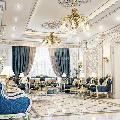 Villa Design-Arabian style villa design VAS1030